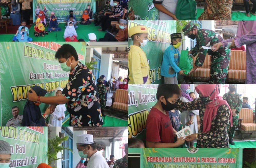 Yayasan Subur Makmur Sejahtera Bersama Fokopimcam Pati Kota Santuni Anak yatim dan Dhuafa